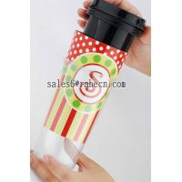 Quality DIY double wall plastic mug for sale