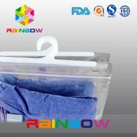 Wholesale Man's Clothing Packaging Bag With Zipper And Hanger Clear Packaging Bag from china suppliers
