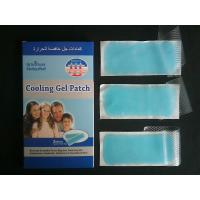 Wholesale fever cooling gel patch forfor baby/adult fever reducing patch from china suppliers