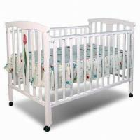 Wholesale 128 x 80 x 100cm Baby's Cot, Made of Solid Wood or MDF from china suppliers
