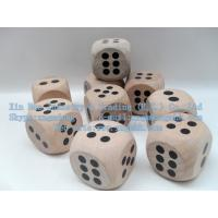 Wholesale Wooden dice, wooden dice, Leisure Products、wood Game Dice from china suppliers