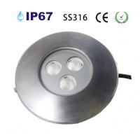 Wholesale SS316 3*2w led underground light from china suppliers
