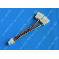 Wholesale 6 Pin PCIe to 2x Molex Power Cable - 6 Inches Dual 4Pin Molex Connector from china suppliers