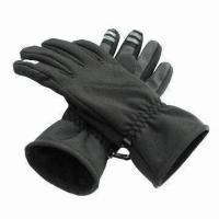 Wholesale Touch Screen Gloves with Fleece Lining, Available in Various Sizes from china suppliers
