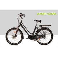 Wholesale 28km / h Electric City Bike 26 Inch Wheel EN15194 Middle Gear Motor Aluminum Frame from china suppliers