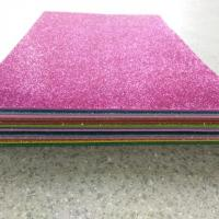 The glitter apply in EVA foam sheet for stationary