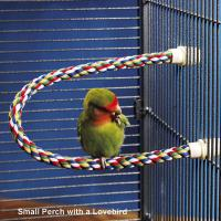 Wholesale Cotton Rope Bird Perch for budgies,love birds and other small birds from china suppliers