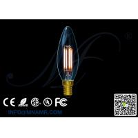 Wholesale Transparent Glass Bulb 110v 220v E14 4Watts LED Candle Lights C32 Dimmable Warm white Lamps from china suppliers