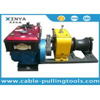 Wholesale Heavy Load 80KN Cable Winch Puller For Overhead Line Transmission from china suppliers