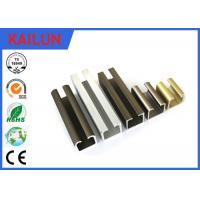 Wholesale Curtain Track Rail U Section Aluminium Extrusion 35 Mm Width En 755 8 HW Hardness from china suppliers