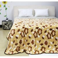 Wholesale 100% Polyester Softest Colorful Throw Blanket Oversized Bed Linings Air - Permeable from china suppliers