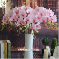 Wholesale UVG China supplier make artificial flower arrangements in silk orchid flowers for sale from china suppliers