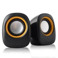Wholesale Plastic USB 2.0 Desktop Computer Speakers Beautiful With Volume Control from china suppliers
