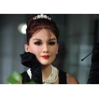 Wholesale Custom Made Audrey Hepburn Wax Figure Famous Wax Statues Nature color from china suppliers