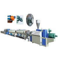 Wholesale Pvc Pipe Extrusion Machine Plastic Pipe Extrusion Line Double Screw Extruder from china suppliers