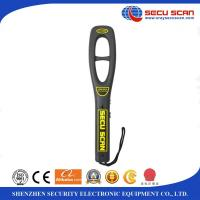 Wholesale Airport security portable metal detector handheld , 7V - 9V Operate voltage from china suppliers