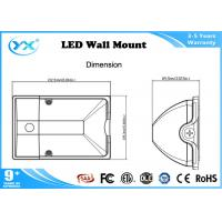 Wholesale Wall Mount Outdoor UL / cUL led wall pack lights Black and Silver Color from china suppliers