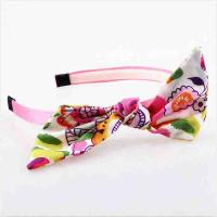 Wholesale Hoop Toddler Girl Hair Accessories Hairband Fabric Material Eco - Friendly from china suppliers