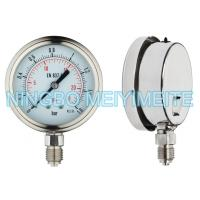 Wholesale 63mm Stainless Steel Welding Pressure Gauge Bayonet Bezel With Dual Scale from china suppliers