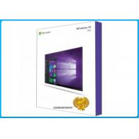 Wholesale 64- Bit Box Retail windows 10 pro pack , Windows 10 Professional Retail Version from china suppliers