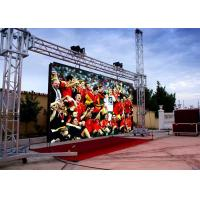 Wholesale Outdoor RGB Led Screen With Wide View Angle P6 / 1200Hz Refresh Rate /  ROHS 960mm * 960mm from china suppliers