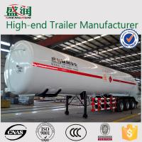 Wholesale Light  Weight Steel  LNG Semi Trailer With 3 BPW Axles and JOST Support Leg from china suppliers
