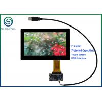 Wholesale ROHS 7'' USB PCAP Projected Capacitive Touch Screen For Smart Home Appliances from china suppliers