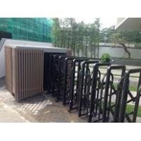 Quality Retractable Automatic Collapsible Gate Trackless For Residential Area for sale