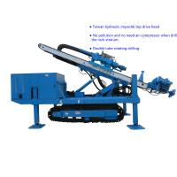 Buy cheap Φ150~Φ250 Hydraulic Impact  80~100 m   Top Drive Anchor Drilling Rig from wholesalers