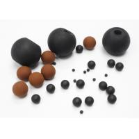 Wholesale Heat Resistant Viton Solid Rubber Ball For Screen Cleaning / Air Restriction from china suppliers