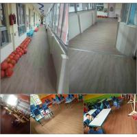 Hanshan ECO waterproof 5.5mm click Vinyl plastic indoor WPC flooring