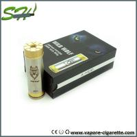 Wholesale Durable Wild Wolf Mod Ecig Stainless Vapor E Cigarette , 510 / EGo Thread from china suppliers