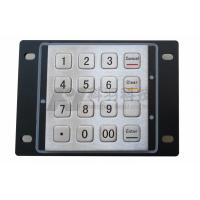 Wholesale Banking PCI Encrypted Pin Pad IK7 , Rugged Wire Kiosk Keypad from china suppliers