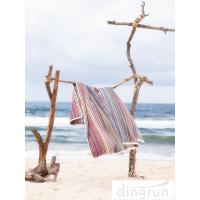 Wholesale Premium Cotton 320gsm lightweight beach towels Quick Dry Easy Wash AZO Free from china suppliers