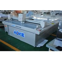 Quality Computerized flatbed digital cutter , paper box cutting machine for sale