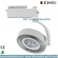 Buy cheap Italian Design 18W LED Track Lights With CREE XP-E Chips Angle adjustable from wholesalers