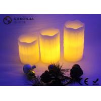 Quality Wax Material Electric Led Candles With Yellow Light 85CM Diameter for sale