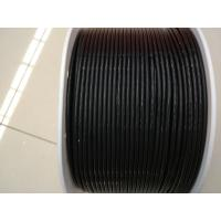 Wholesale Antistatic Black Color Pu Round Belt For Electronic Accessories , 400m / Roll from china suppliers