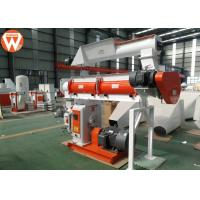 Wholesale 150kw Pellet Production Equipment , Stable Performance Farm Industry Feed Pellet Plant from china suppliers