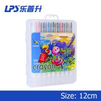 Wholesale Multicolor Staples Twist Up Crayons For Children Painting 18 Colors from china suppliers