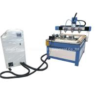 Wholesale 3 Heads 3 Rotary Axis Wood Metal Stone CNC Engraving Cutting Machine from china suppliers