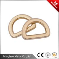 Wholesale Hot sale metal d ring bag buckle , 20mm zinc alloy d ring buckle for handbag from china suppliers