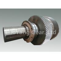 Wholesale Large Size Machining Transmission Input Shaft / Steel Worm Wheel Shaft from china suppliers