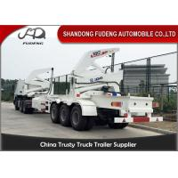 Wholesale Tri Axle Side Loader Container Truck / 16-37 Ton Self Loading Container Truck from china suppliers