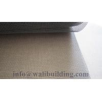 Wholesale plain weaving light gray Fiberglass insect screen from china suppliers
