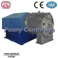 Wholesale High performance automatic two stage pusher centrifuge for sea salt separation from china suppliers
