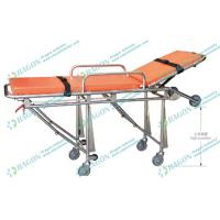 Wholesale Emergency stainless steel ambulance foldable stretcher for hospital , Clinic , Medical from china suppliers