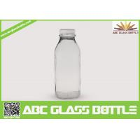 Wholesale Clear regular 10 oz. glass bottles for milk from china suppliers