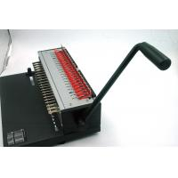 Wholesale High Volume Binding Manual A4 Binder Machine , Electric Comb Binder ISO9001 from china suppliers