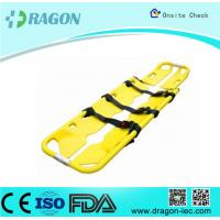 Wholesale Seperatable Yellow Emergency PE Foldable Stretcher Scoop for Transfer Patients from china suppliers